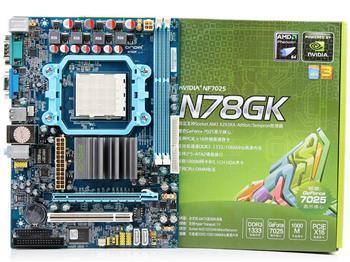 N78GK motherboard x2 250 x3 450 x4 640 perfect motherboard 100 tested perfect quality