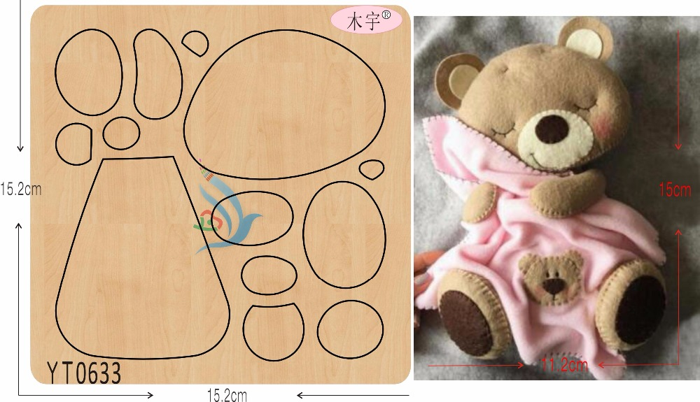 Arts,crafts & Sewing Babies And Balloons New Wooden Mould Cutting Dies For Scrapbooking Thickness-15.8mm