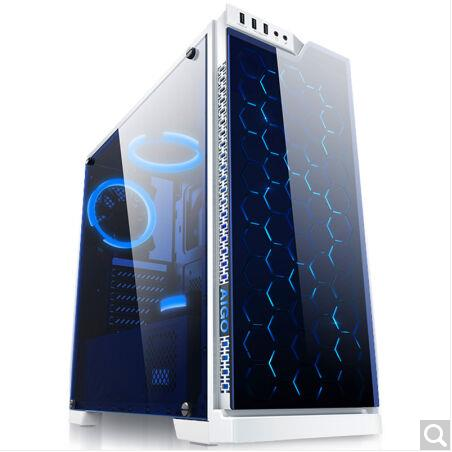 Hyun Deluxe Edition White in the tower 2 side glass chassis support ATX motherboard zenfone 2 deluxe special edition