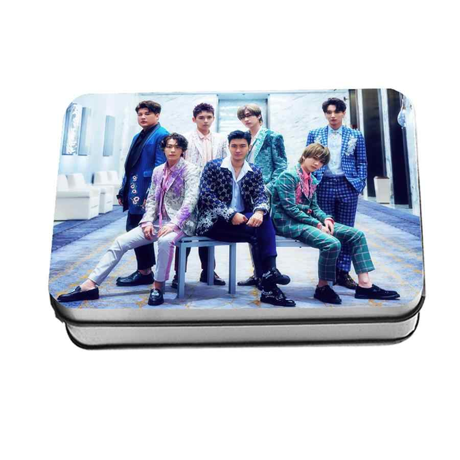 Kpop Super Mini Album Junior One More Time Polaroid Lomo Photo Card HD Photocard Cards with Metal Box 40pcs