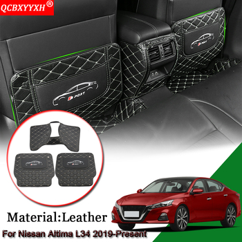 Car Styling Car Interior Seat Protector Side Edge Protection Pad Car Stickers Anti-kick Mats For Nissan Altima L34 2019-Present