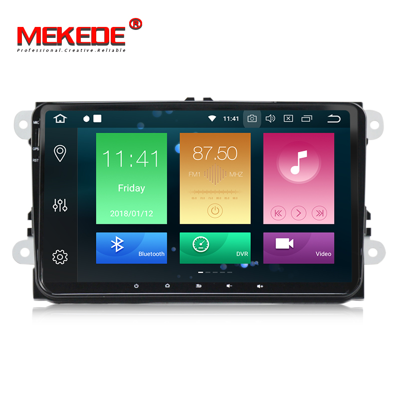 Voiture Multimédia lecteur PX5 Android 8.0 Voiture GPS radio Stéréo Pour Volkswagen/VW/POLO/PASSAT/Golf /Skoda/Octavia/Siège/Leon Radio wifi