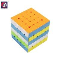 BD Sticker Speed Cube Magic Cube Puzzle PVC Sticker Block Puzzle Speed Cube Colorful Learning Educational