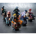 6Pcs Anime Naruto Uzumaki Kakashi Gaara PVC Figure Toy Model Set Collection Gifa Christmas Child Gift