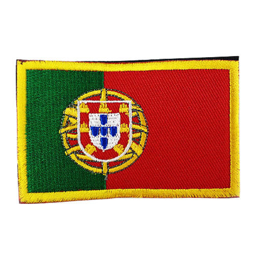 33a5be04ca2 National Flag Embroidery 3D Badge Patch Military Armband Backside Tactical  Patches Portugal