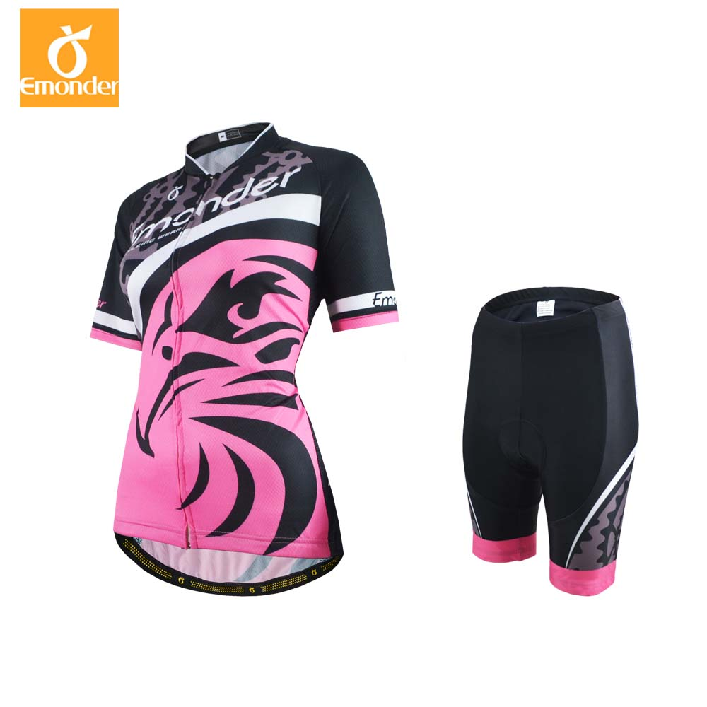 2018 Women Cycling Jersey Cycling Clothing Set Summer Breathable Bike Jerseys Bicycle Mountain Wear Mtb Clothes Ropa Ciclismo