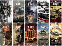 World of Tanks чехол для samsung Galaxy A8 плюс 2018 S9 плюс S3 S4 S5 S6 S7 края Примечание 3 4 5 E5 E7 чехол телефона чехлы Чехлы