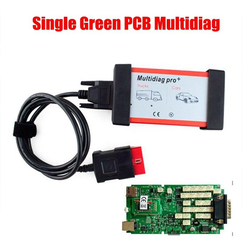 Qualité A + + + Multidiag pro plus bluetooth Unique Conseil PCB TCS cdp PRO 2015.3 Keygen Voiture outil de diagnostic lecteur de code nouveau vci