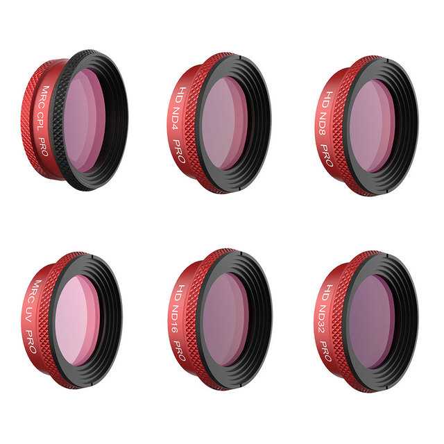 PGYTECH Professional Filter For DJI MAVIC Air PRO Lens Filters UV CPL ND4 ND8 ND16 ND32 Filter kit MAVIC Air Drone Camera