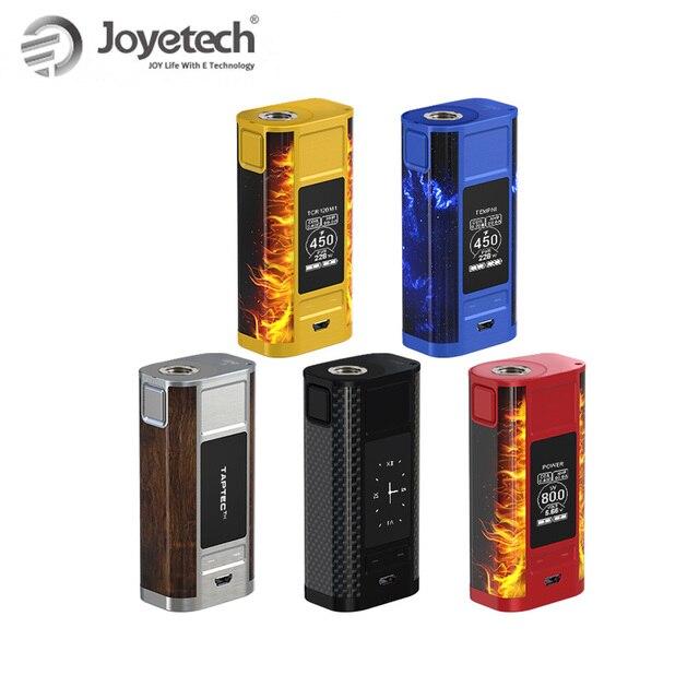 ต้นฉบับ Joyetech CUBOID TAP TC Mod Box Mod 228 W OLED โดย 18650 แบตเตอรี่ไม่รวม TAPTEC เทคโนโลยี e - Cig