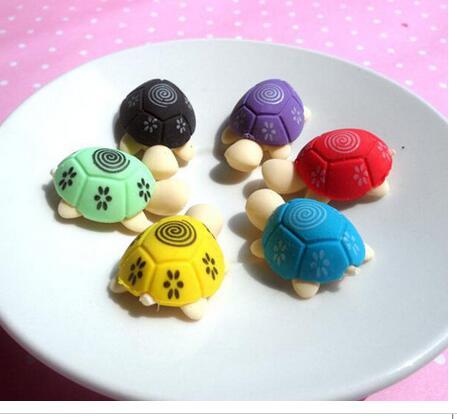 2 шт/партия маленький Черепаха стильный ластик милый, смешные ластики, офис и кабинет резиновый ластик, Детские канцелярские принадлежности,(SS-291