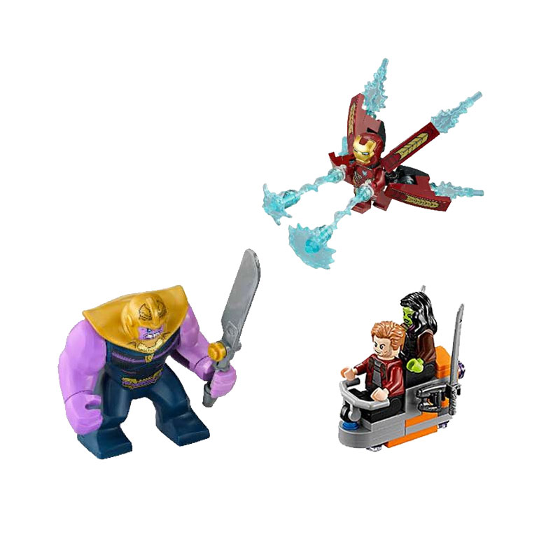 07103 Legoings Marvel Super Heroes Avengers Infinity War Thanos Ultimate Battle Iron Man Blocks Kid Toy Gift Legoingly in Blocks from Toys Hobbies