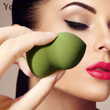 Yoxier 4 colors Foundation Cosmetic Puff Gourd Make Up  Skin Care Soft Bouncy Powder Smooth Face Nose Sponge Beauty Tools 1PCS