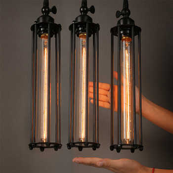 Vintage Country Retro Pendant Lights Steam Punk Industrial Style Single Head Corridor Restaurant Lamps With Edison Light Bulb - Category 🛒 Lights & Lighting