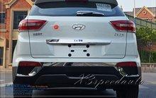 Free Shipping Car Styling Chromed Rear Trunk Lid Cover Trim For Hyundai IX25 2014 2015