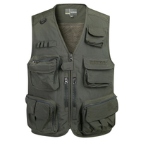 Summer Autumn Vest Men Military Sleeveless Jacket V Neck Mesh Vest Male With Many Pockets Plus Size L 4XL gilet homme