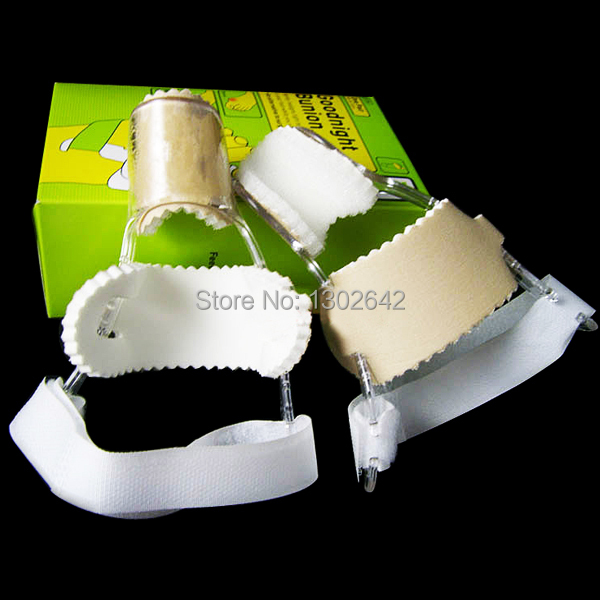 FM Free Shipping 2pcs A Lot Bunion Big Toe Spreader Eases Foot Pain Foot Goodnight Bunion Separate Toe Manager Foot Design
