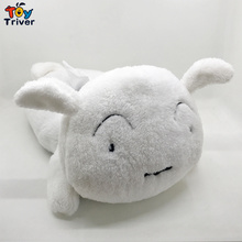 Shin-Chan Crayon Shin Chan Pet White Dog Plush Toy Stuffed Doll Tissue Box Case Napkin Paper Holder Home Shop Office Car Decor