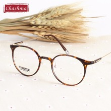 Chashma Retro Spectacle Frame Female Rimmed Glasses Optical Women Prescription Frames Rould Eyeglasses Trend
