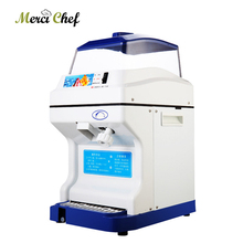 ITOP 200kgs/H Commercial Electric Ice Shaver Snow Cone Ice Crusher  Machine Adjustable Ice Thickness Slushy Maker