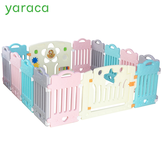 Baby Playpens Fencing For Children Baby Safety Fence Safety Barriers For Child Playpen Play Yard Indoor Plastic Fence Kids