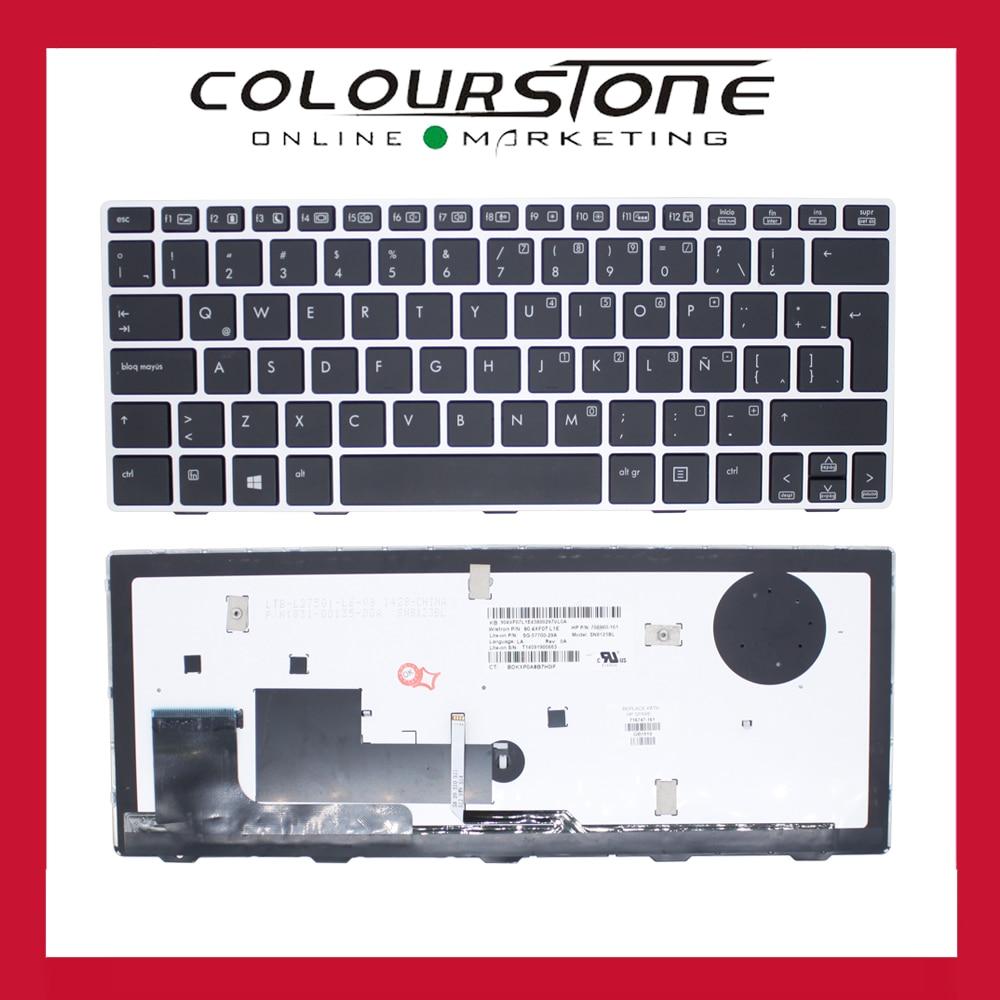 Nouvelle D'origine Latine clavier rétro-éclairé Pour HP EliteBook 810 G1 G2 G3 série LA remplacement clavier d'ordinateur portable 90.4XF07.L1E