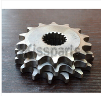 For SUZUKI GS125 GN125 DR125 RM125 EN125 2A GS Engine HYOSUNG 125 Motorcycle 428 CHAIN Front