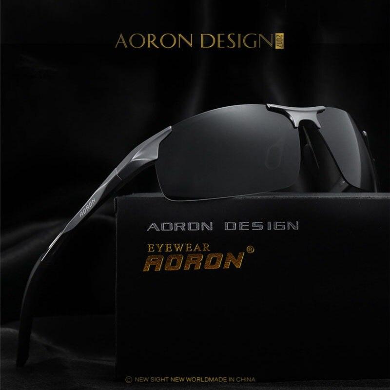 aoron men polarized vintage aluminum sunglasses goggle for. Black Bedroom Furniture Sets. Home Design Ideas