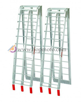 Aluminum Ladder for Move ATV Dirt Pit Bike Motorcycle loading ramp folding ladder ATV accessiores