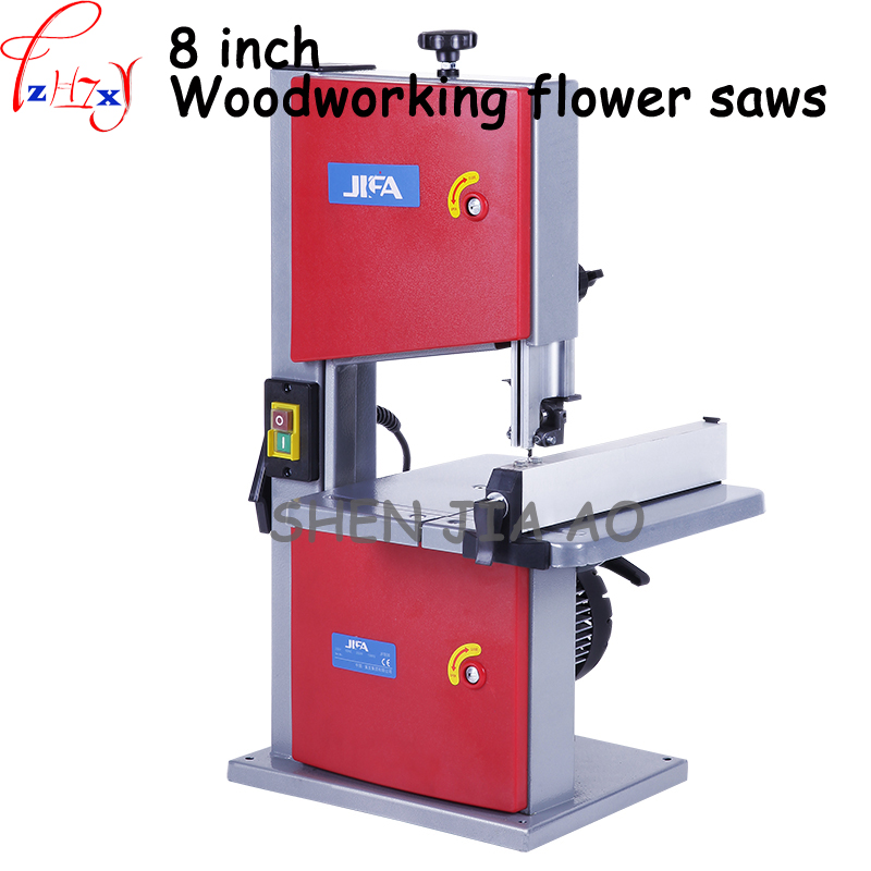 1pc 220V Multifunction Band Saw Machine Woodworking Band-sawing Machine Solid Wood Flooring Installation Work Table Saws цена и фото