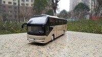 Коллекционная модель сплава подарок 1:42 весы Yutong ZK6128HQB двухэтажный путешествия транзитный автобус транспортных средств литья под давлением