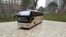 Collectible Alloy Model Gift 1:42 Scale Yutong ZK6128HQB Double decker Travel Transit Bus Vehicles DieCast Toy Decoration