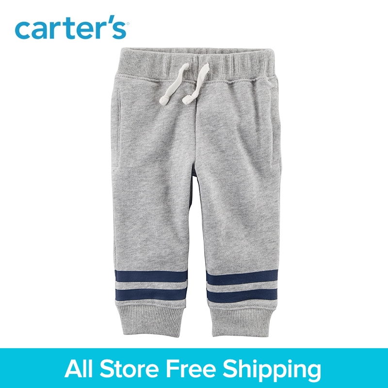 цена на Carter's 1-piece baby children kids clothing Boy Spring Pull-On French Terry Joggers 127G905/127H187