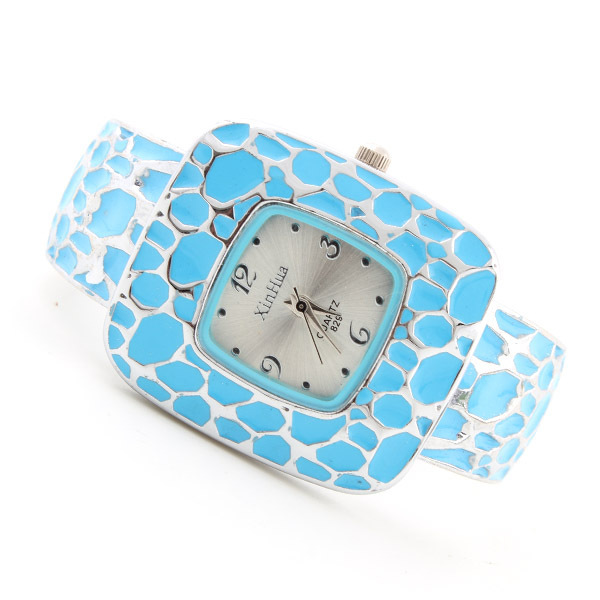 Fashion Brand Square Dial Women Bracelet Watches Ladies Casual Analog Quartz-wat