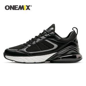 Image 1 - ONEMIX סניקרס לגברים חורף סתיו נעלי ריצה חיצוני ריצה נעל ספיגת זעזועים כרית אוויר רך הסוליה הפנימית 270 נעל