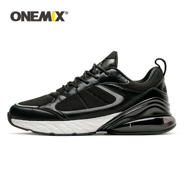 ONEMIX סניקרס לגברים חורף סתיו נעלי ריצה חיצוני ריצה נעל ספיגת זעזועים כרית אוויר רך הסוליה הפנימית 270 נעל