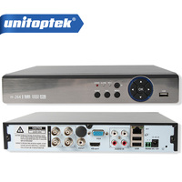 4Ch 8Ch Hybrid DVR NVR XVR Support 5 IN 1 AHD CVI TVI CVBS IP Camera