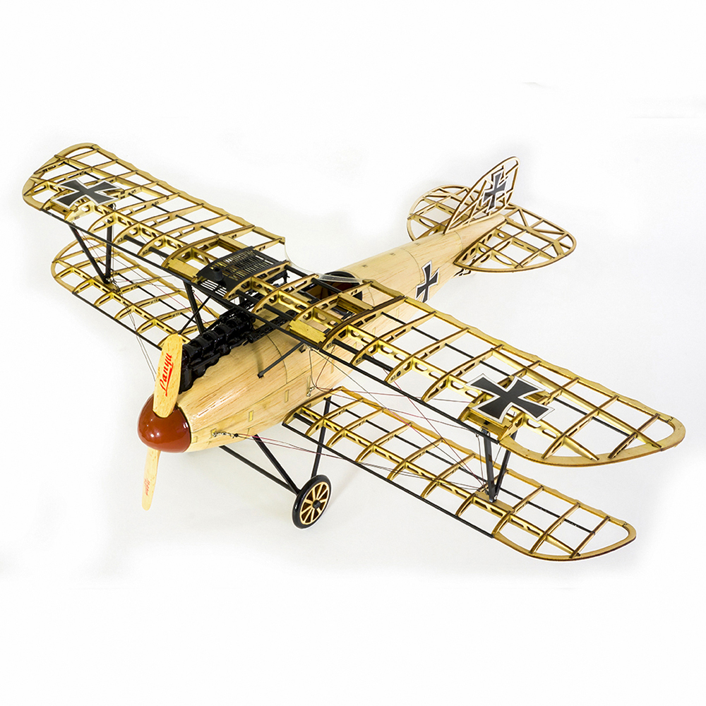 VS02 1/15 Wooden Static Airplane Model Display Replica 500mm Albatross Kit Craft Wood Furnishing Gift for Children Adults
