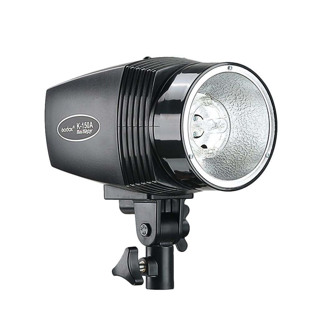 Lightupfoto 150Ws GODOX K 150A Photo Studio Mini Master Strobe Flash Monolight 110V Studio Flash Light