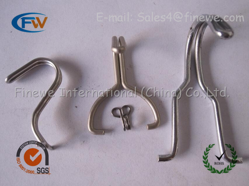Custom retaining metal stainless steel font b spring b font font b clips b font steel compare prices on wire spring clips online shopping buy low price Spring Steel Clips Catalog at crackthecode.co