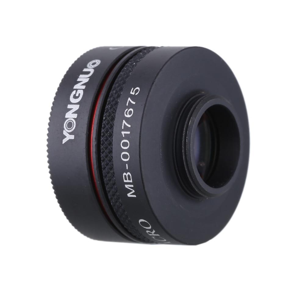 YONGNUO Smartphone Phone Camera Photo 0.65X Wide Angle And Macro Lens