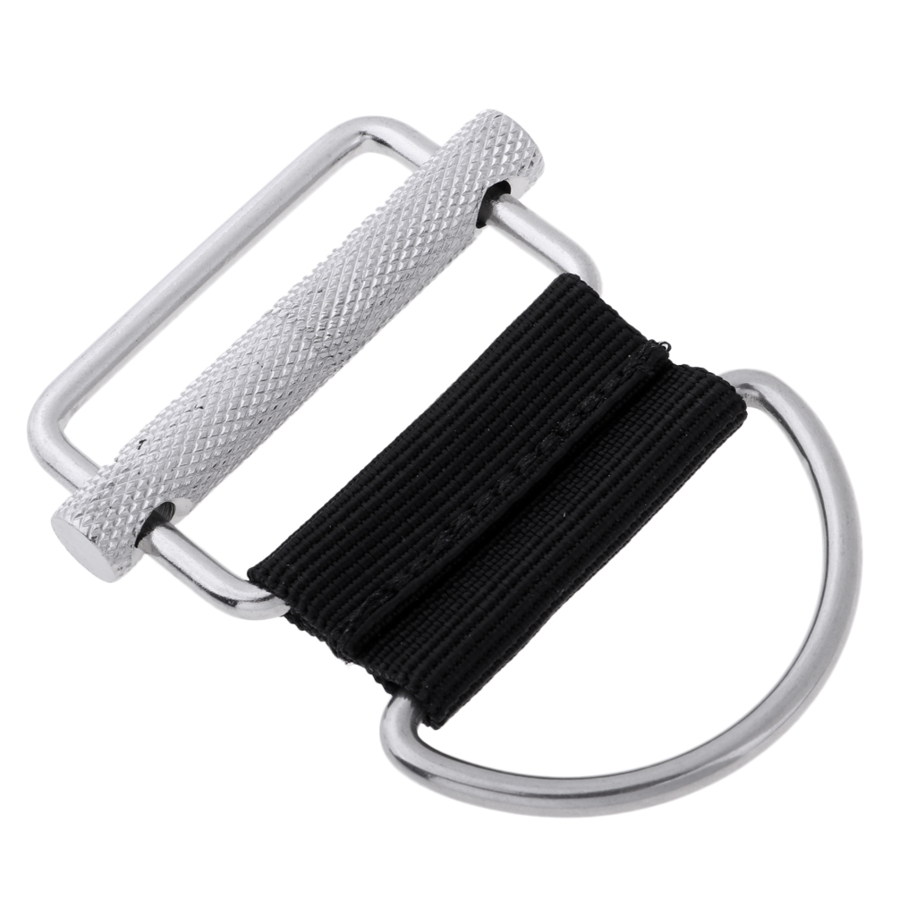 316 Stainless Steel Technical Scuba Diving Standard Weight Belt Buckle With D Ring For Scuba Diving Snorkeling Free Diving Acces