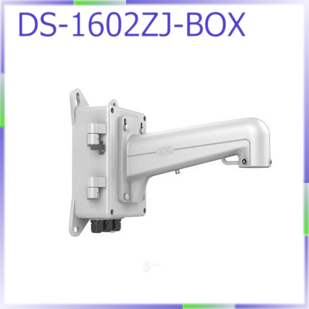 Free shipping DS-1602ZJ-BOX PTZ camera Wall Mount Bracket with junction box favourite 1602 1f