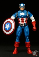 New 6'' Marvel Legends Captain America with Shelf Joints Doll Action Figure Collectible Model Toy In Box