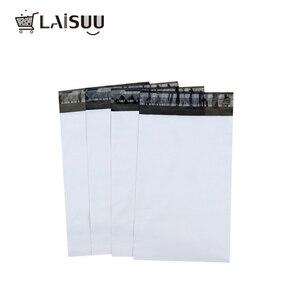 Image 1 - 50 قطعة A3 23*30.5 سنتيمتر التجارة الخارجية المصنع مباشرة الأبيض سميكة البريدية حقيبة للماء ودائم جديد المواد صريحة حقيبة