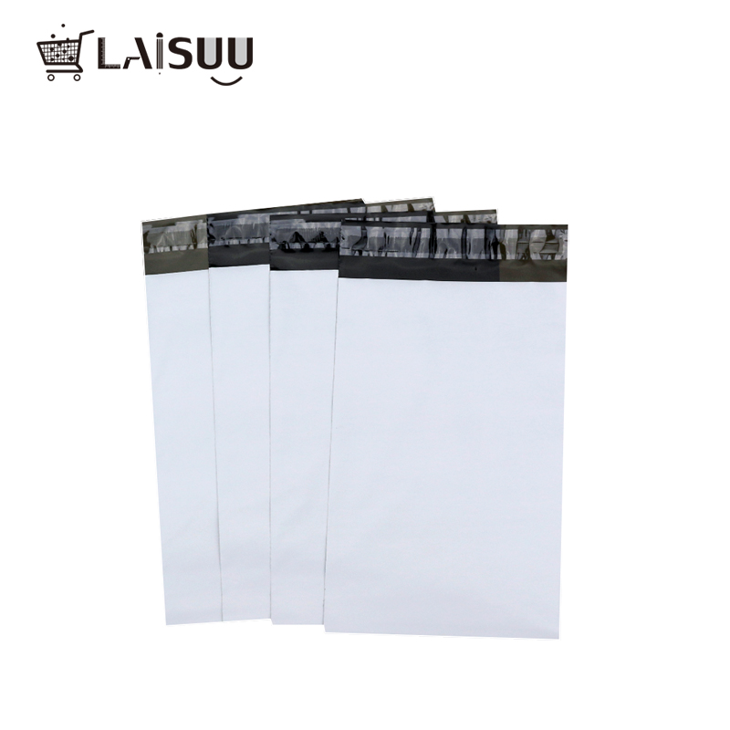 50pcs A3 23*30.5cm Foreign Trade Factory Direct White Thick Postal Bag Waterproof And Durable New Material Express Bag