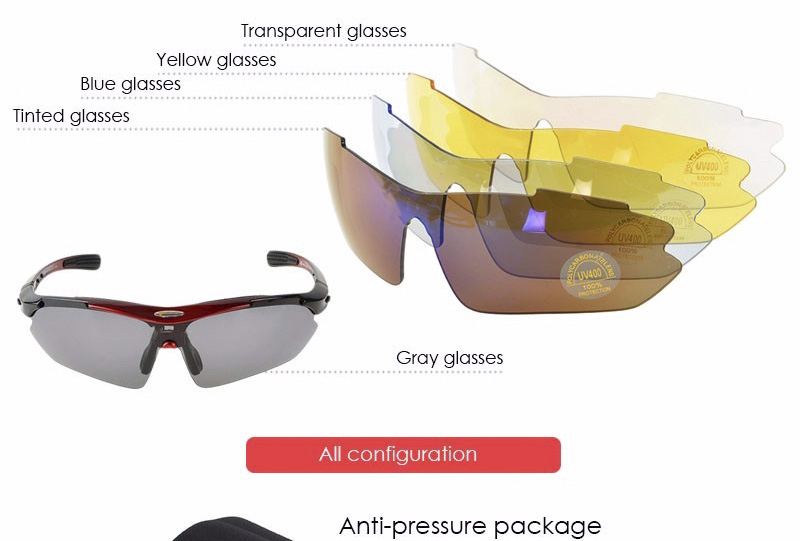 rockbros cycling eyewear