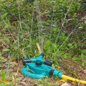 Image 5 - Garten Sprinkler Gießkanne Automatische Bewässerung Gras Rasen 360 Grad Voll Kreis Rotierenden Bewässerung Sprinkler Umweltfreundliche