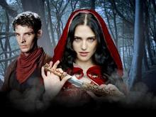 D1055 Merlin Colin Morgan Katie McGrath Morgana TV Series-Print Silk Art Wall Poster(China)