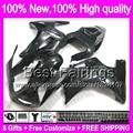 8Gifts For SUZUKI ALL Black SV650 S 03 04 05 06 07 08 09 10 11 12 13 Glossy black 69BT100 SV1000S SV650S SV1000 S 03-13 Fairing